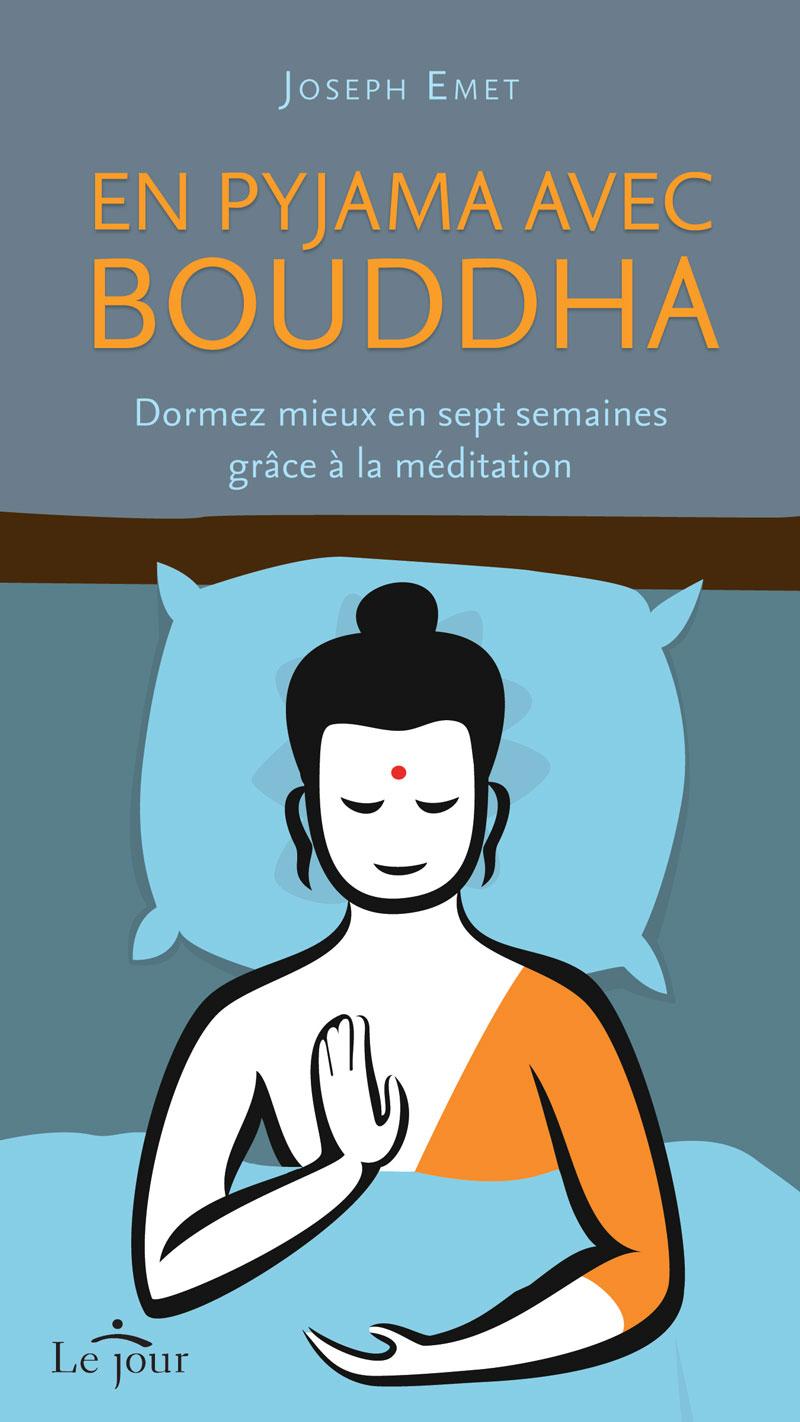En pyjama avec bouddha